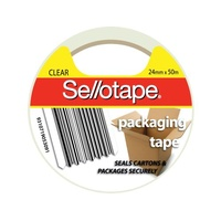 Sellotape Packaging Tape 24mmx50m Clear