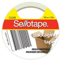 Sellotape Packaging Tape 36mmx50m Clear