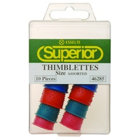 Esselte Superior Thimblettes Assorted Sizes Box 10