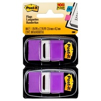 Post-It 680-PU2 Flags Purple Pack 2
