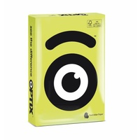 Optix Copy Paper A4 80gsm Zeto Lime Pack 500