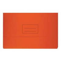Bantex Document Wallet Foolscap Board 240gsm Orange