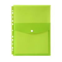 Marbig Binder Pocket A4 Top Opening Lime