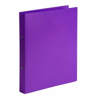 Marbig Binder A4 2 Ring 25mm Soft Touch Purple