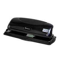 Rexel Precision P425 Hole Punch 4 Hole 25 Sheet Black