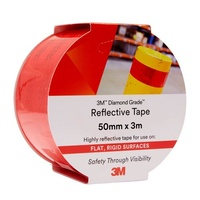 3M 983-10 Diamond Grade Reflective Tape 50mm x 3m Red