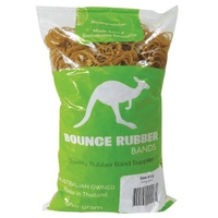 Bounce Rubber Bands Size 12 500gm Bag