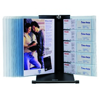 Esselte Visual Display System Black 10 A4 Clear Panels
