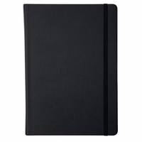 Collins Notebook A4 Legacy Feint Ruled Black 240 Page
