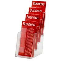 Esselte Brochure Holder DL 4 Tier Freestanding