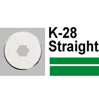 Carl K-28 DC200/230 Blades Straight Disc Cutter Card 2