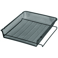Esselte Document Tray Metal Mesh A4 Black