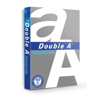 Double A Presentation Copy Paper A4 White 100gsm Pack 200