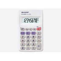Sharp EL233SB 8 Digit Pocket Calculator