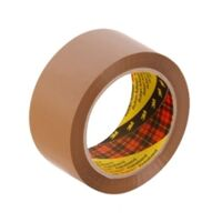 Scotch 370 Packaging Tape 48mmx75m Brown Pack 6
