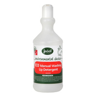 Jasol EC0 Environmental Choice Manual Dishwashing Squeeze Bottle 750ml (Unfilled)