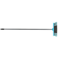 Cleanlink Broom 30cm Indoor Soft Bristle With Aluminium Handle