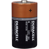 Duracell Coppertop Alkaline D Size Battery
