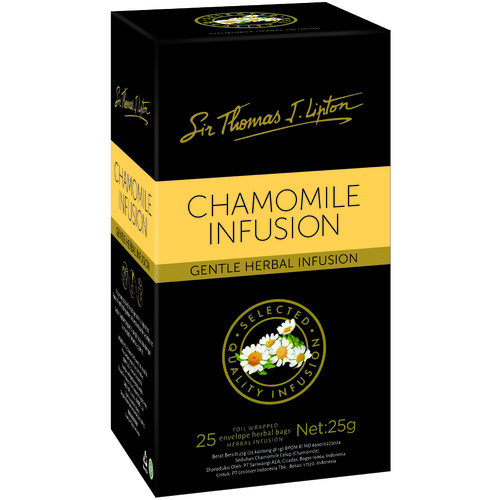 Sir Thomas Lipton Chamomile Envelope Tea Pack 25